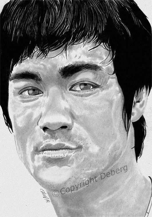 Bruce Lee by Deberg